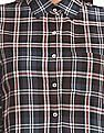 Aeropostale Regular Fit Plaid Check Shirt