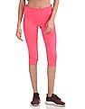 U.S. Polo Assn. Women Solid Active Cropped Leggings