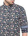 Ed Hardy Floral Print Slim Fit Shirt