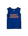 The Children's Place Toddler Boy Sleeveless Statement Active Tank Top