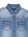 Cherokee Boys Cotton Chambray Shirt