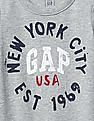 GAP Baby Logo Long Sleeve One Piece