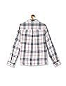 Cherokee Straight Hem Check Shirt