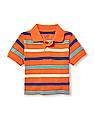 The Children's Place Toddler Girl Striped Polo Shirt