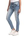Aeropostale Jegging Fit Distressed Jeans
